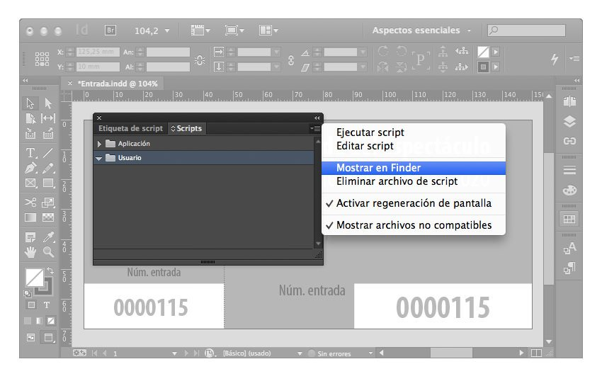números secuenciales indesign 02