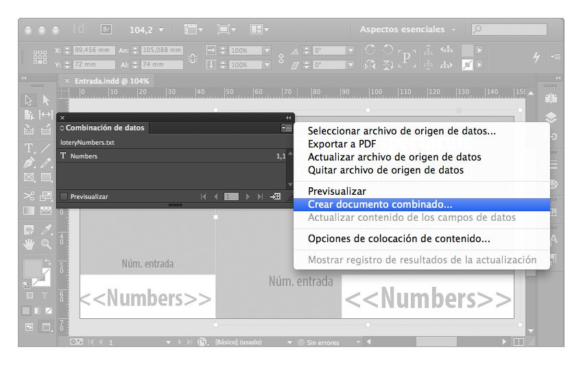 numeros secuenciales indesign 07